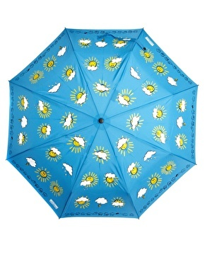 Enlarge Moschino Cheap & Chic Weather Forecast Umbrella