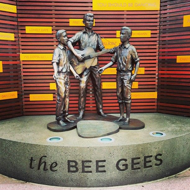 Bee Gees Way in Redcliffe, QLD