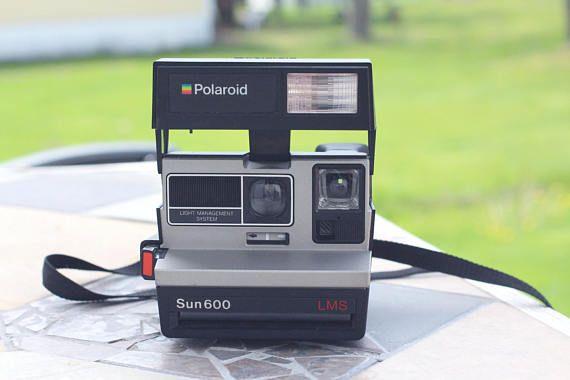 Vintage Polaroid Sun600 Caméra Polaroid Vintage Caméra