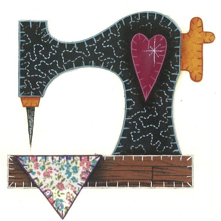 maquina de costura patchwork molde - Pesquisa Google