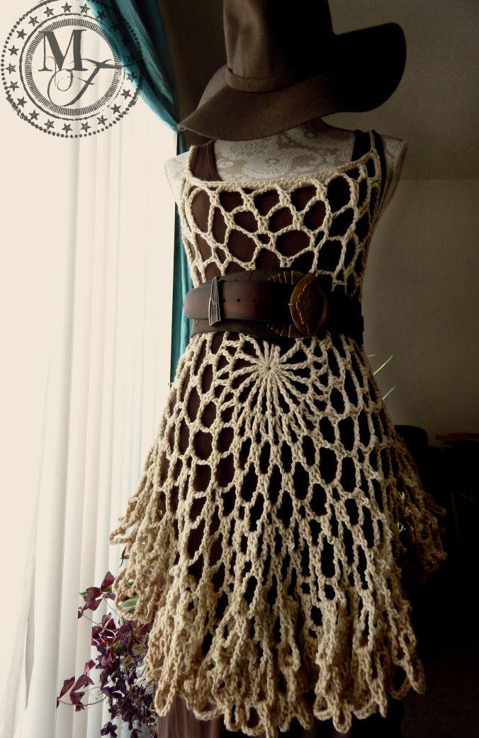 Mandala crochet summer top - pattern by Morale Fiber                                                                                                                                                                                 More