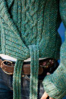 Beautiful side-tied sweater