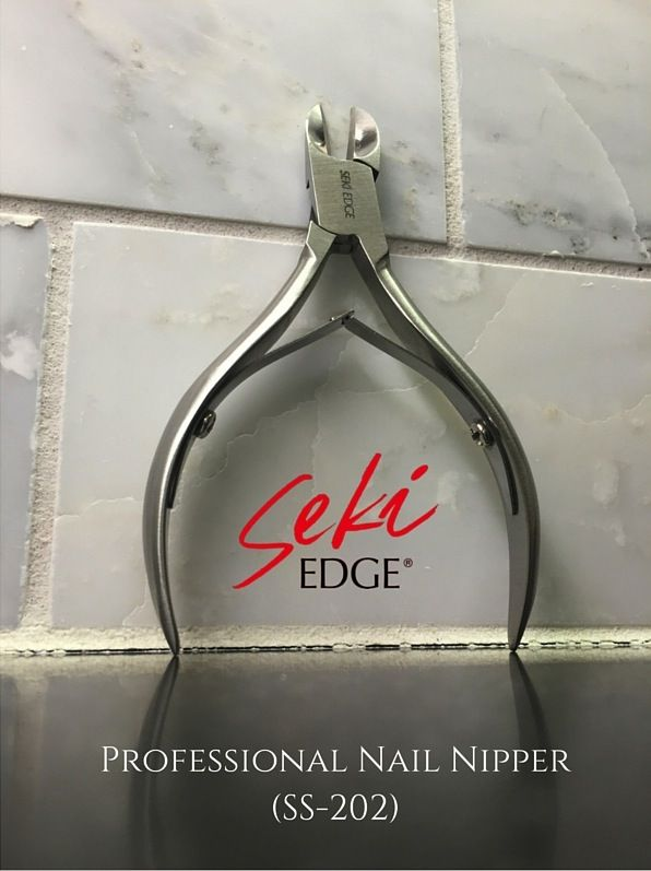 You know a nail clipper is not gonna 'cut it' when it comes to your thick toenails. Thick toenails need something with much stronger jaws that can withstand the thickness. When it comes to #thick toenails what you need is a nail nipper. That's right. A #nailnipper http://www.sekiedge.com/blog/thick-toenails-met-match/