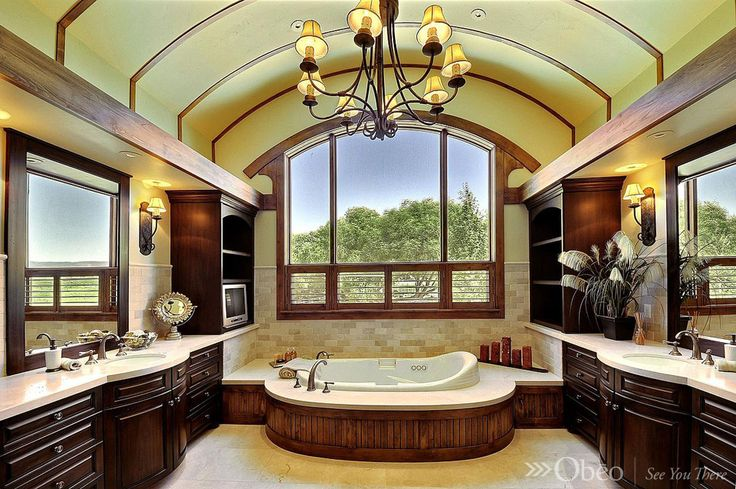 23 best amazing master bathrooms images on pinterest for Amazing master bathrooms