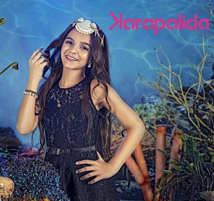A renda com todo o seu charme e glamour, para dar um toque ousado e fashion ao dress!  #karapalida #verão2017 #renda #sobreposição