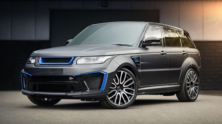 Project Kahn goes Big with the Range Rover Sport SVR Pace Car » MotoringExposure