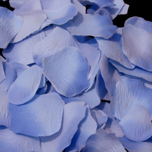Periwinkle Rose Petals for the Flower Girl Basket $5.95