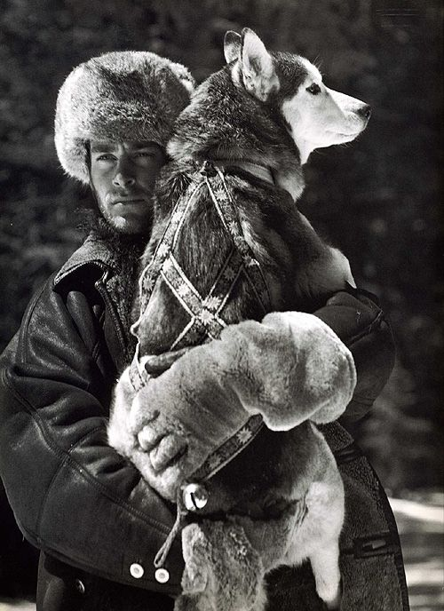Man with with his best friend dog I love this. The more I'm around people the more I love my dog !!