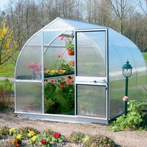Would love to have a cute little green house! :)
