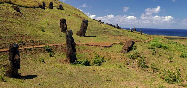 Easter Island. New findings rekindle old debates about when the first people arrived and why their civilization collapsed