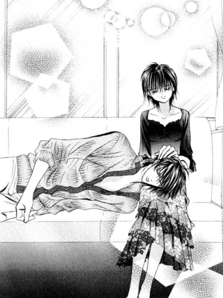 This was a really beautiful chapter. It was the early days when Ren realized he had to start fighting for his love. So sweet. Skip Beat!