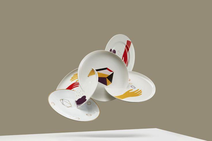 Second Life of Plates / Lapinska Porcelain / photo Jan Kriwol www.lapinska-porcelana.com