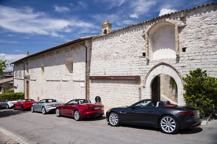 Jaguar F-type Global Lifestyle launch event in Italy