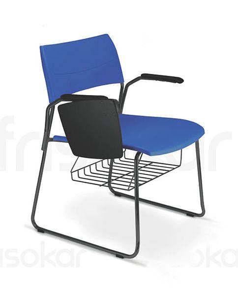 Cadeira Universitária WORK | Duratta - Mobiliário Corporativo
