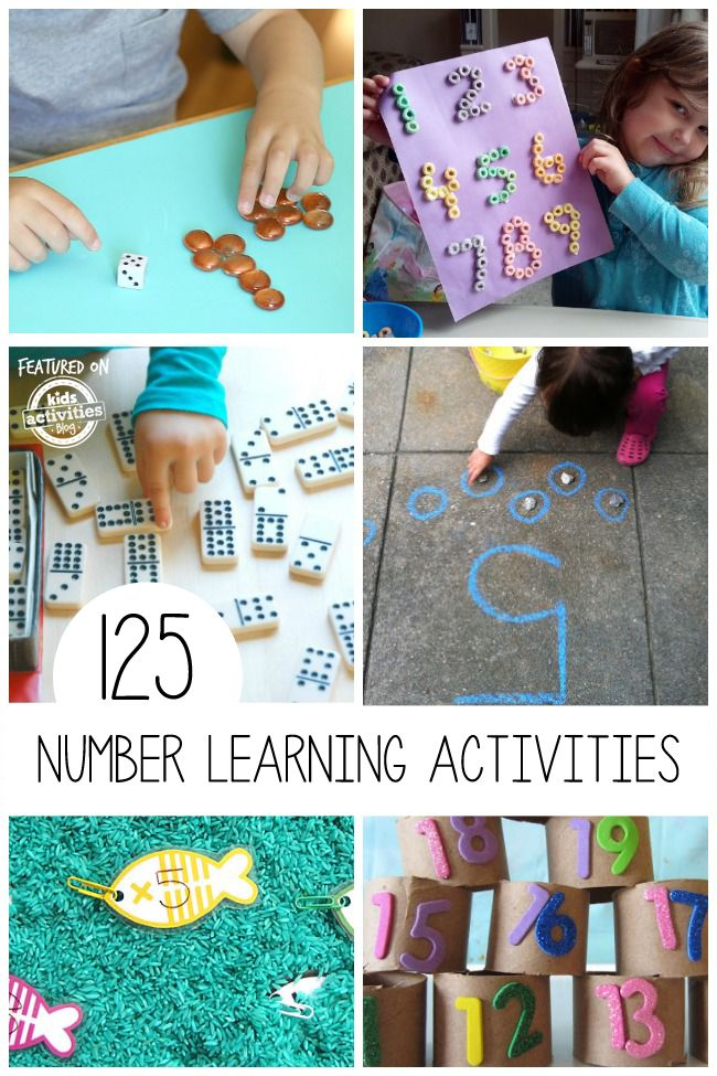 If you have a little one beginning to practice math, these number learning activities are perfect.