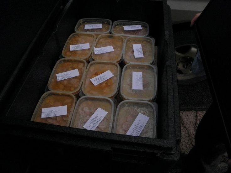 Az Ordo Hungariae december 27-től, 2016. január 03 ig. napi 80 adag meleg ételt oszt a rászorulóknak, plusz egy csomag 0,5 kg -os szeletelt kenyeret, és még egy konzerv ételt is adunk/adtunk.