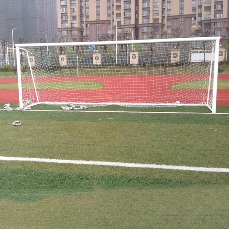 New 1Pcs 24x8ft Professional Football Goal Nets for Soccer Goal Post Junior Sports Training outdoor match #Affiliate