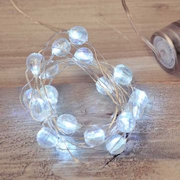 fairly lights - submersible crystal gems LED