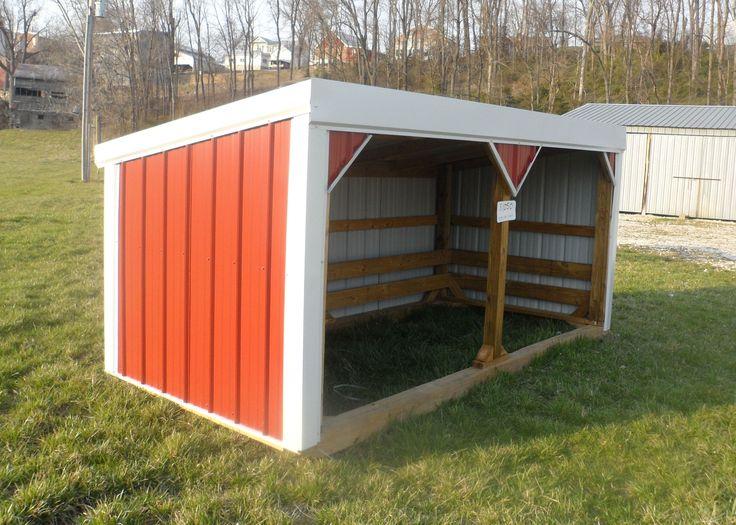 Goat/pony shelter