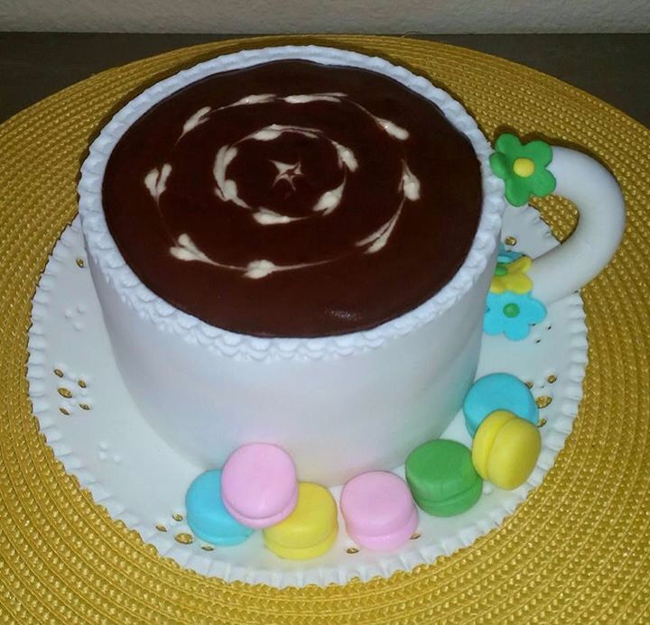 Cup of Coffee  birthday cake
