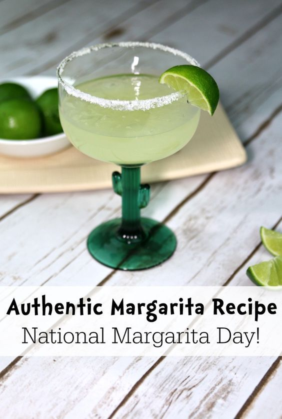 February 22nd is National Margarita Day! We are bringing a little piece of Mexico to your kitchen with this delicious authentic margarita recipe. Dreaming of sun and sand?
