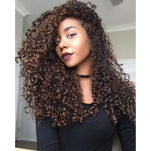 """""""Results from only using water and  @sheamoisture4u cream ➰ love it love it love it  #curlyhair"""" Photo taken by @daphnegchy on Instagram, pinned via the InstaPin iOS App! http://www.instapinapp.com (12/01/2015)"""