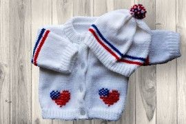 USA Baby Sweater