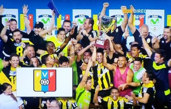 Deportivo Táchira se quedó con el Clausura 2015