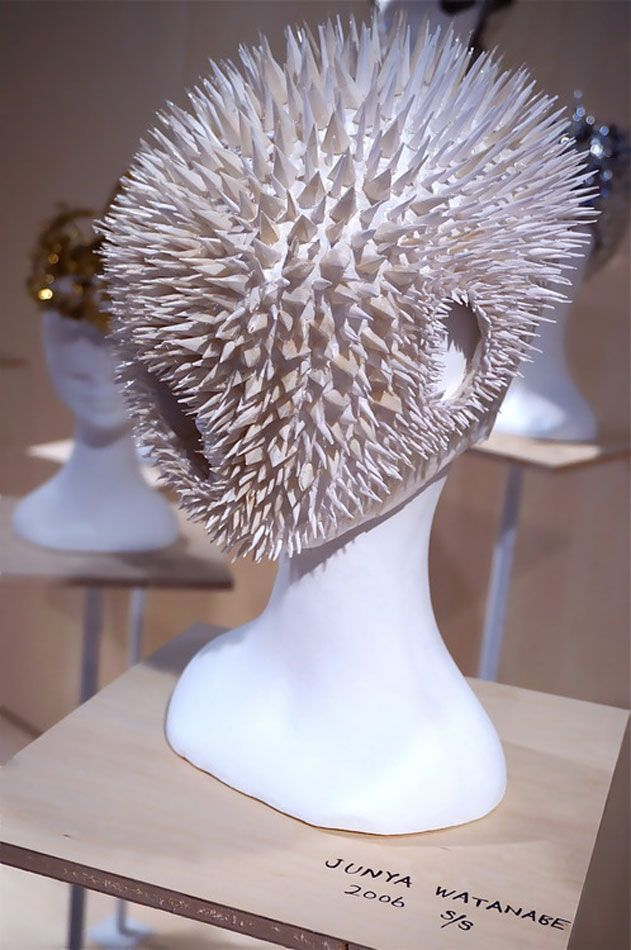Katsuya Kamo and his 100 Headpieces | Design Catwalk | Morethanlove
