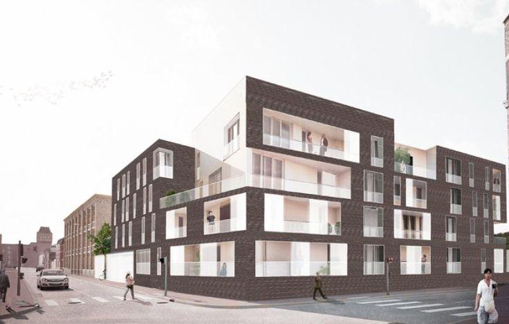 Construction et réhabilitation de 122 logements collectifs et 12 lofts - Lille , de Alzua