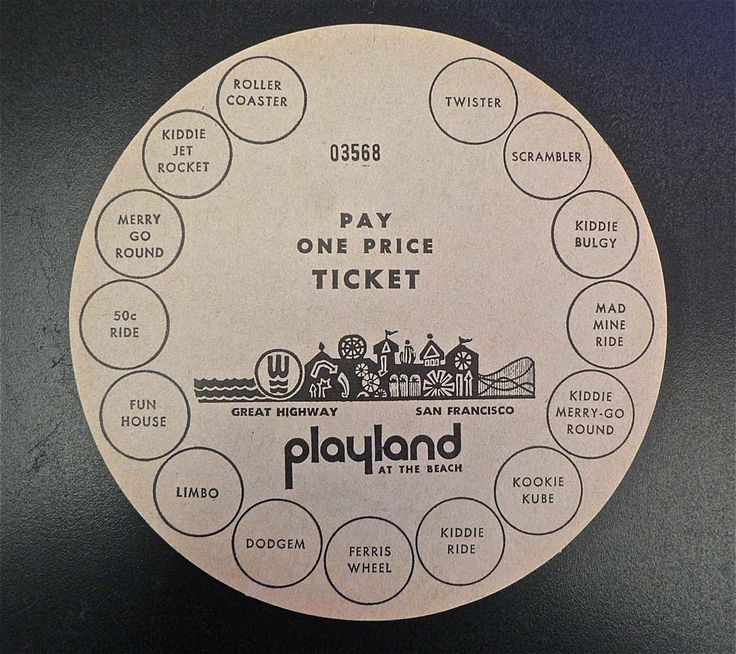 pictures of playland in san francisco - Google Search