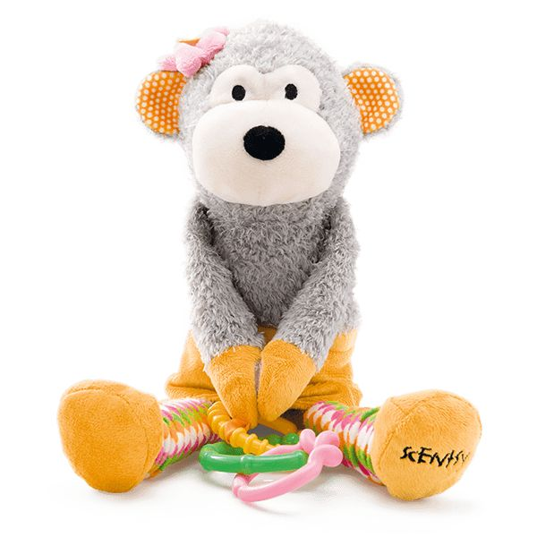 Meeka the Monkey Scentsy Sidekick - From the best-selling Scentsy Sidekick range, Meeka the Monkey is a fabulous educational toy for babies and toddlers.