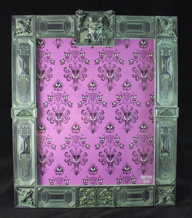 Disney Parks Haunted Mansion 8x10 Photo Picture Frame