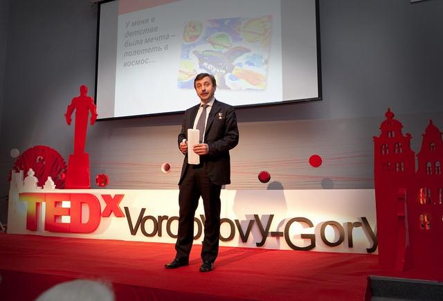 Alexander Lazutkin by TEDxVorobyovyGory, via Flickr