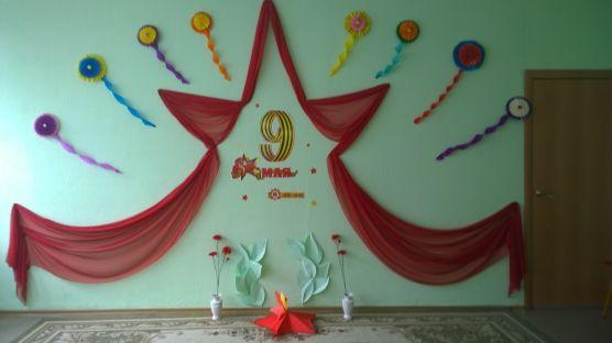Оформление зала к весенним праздникам - Для воспитателей детских садов - Маам.ру