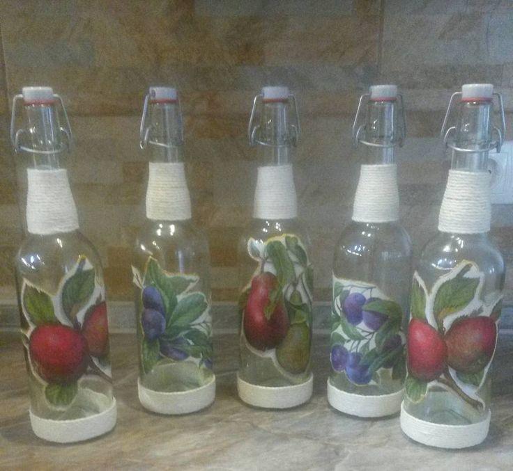 csatos üvegek