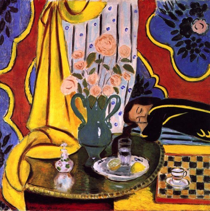 Harmony In Yellow 1927 1928 Henri Matisse Henri Matisse