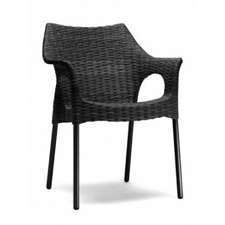 Zahradní židle OLINA V, Antracit