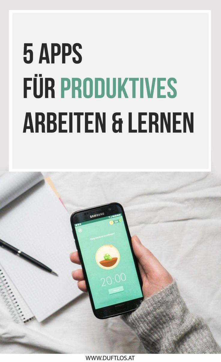5 Apps, mit denen ihr produktiver arbeiten und lernen könnt!