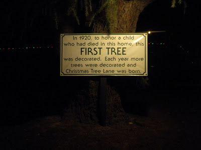 Christmas Tree Lane - Fresno CA