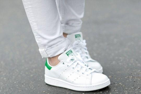 Comment donner une seconde jeunesse à ses tennis en cuir blanches ?