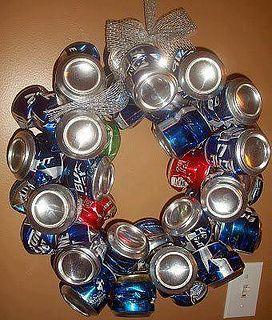 redneck wreath... this too @Jill Burby