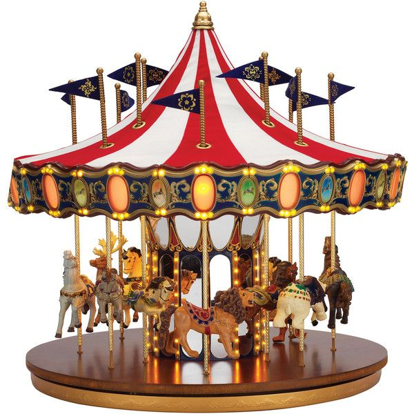 In celebration of Mr. Christmas' 75th year in business, the Mr. Christmas Anniversary Carousel features the finest workmanship, materials, music and more. Over…