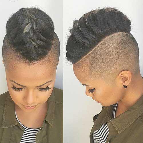 Schöne Zöpfe für Kurze Haare