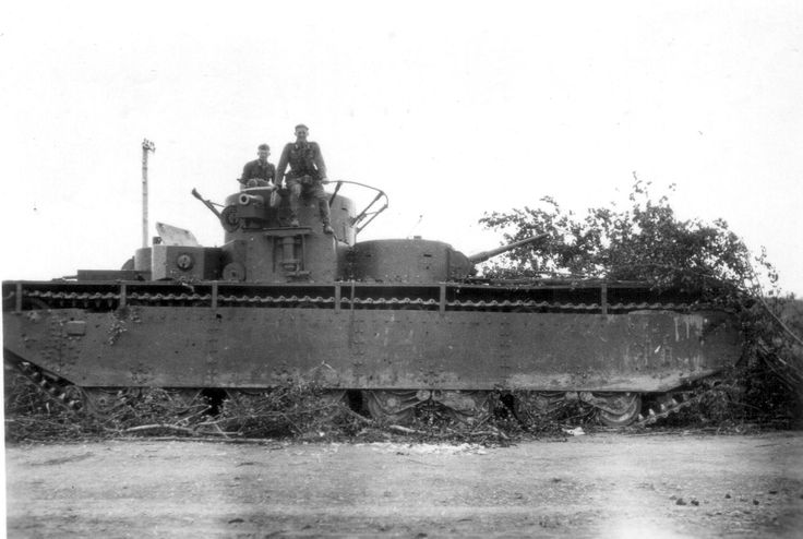 The T-35 was a Soviet multi-turreted heavy tank of the interwar period and early WW2 that saw limited production and service with the Red Army. It was the only five-turreted heavy tank in the world to reach production, but proved to be slow and mechanically unreliable. Most of the T-35 tanks still operational at the time of Operation Barbarossa were lost due to mechanical failure rather than enemy action.
