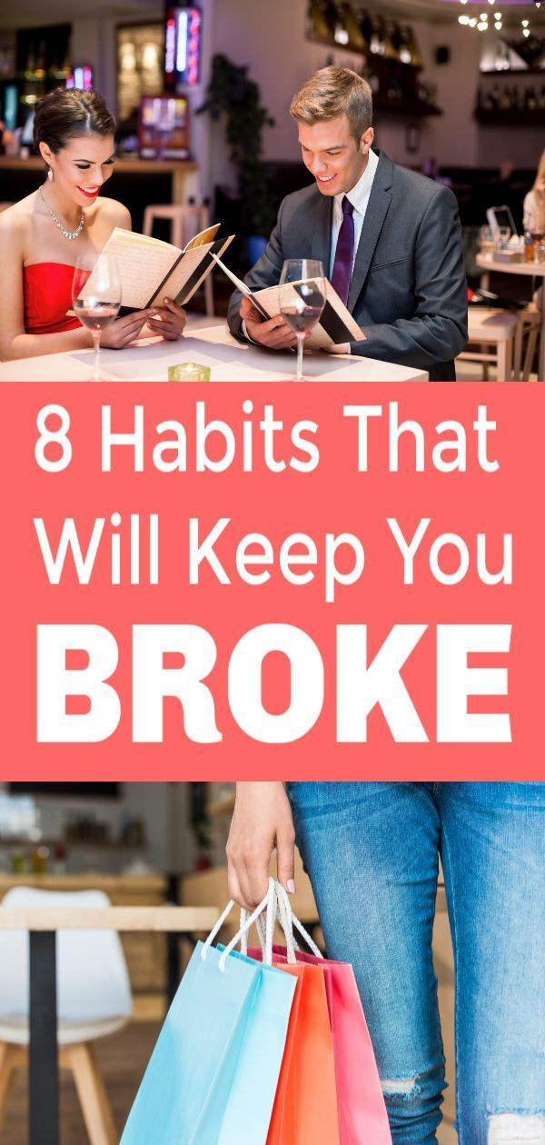Are these 8 habits keep your bank account low and your credit card balances high…