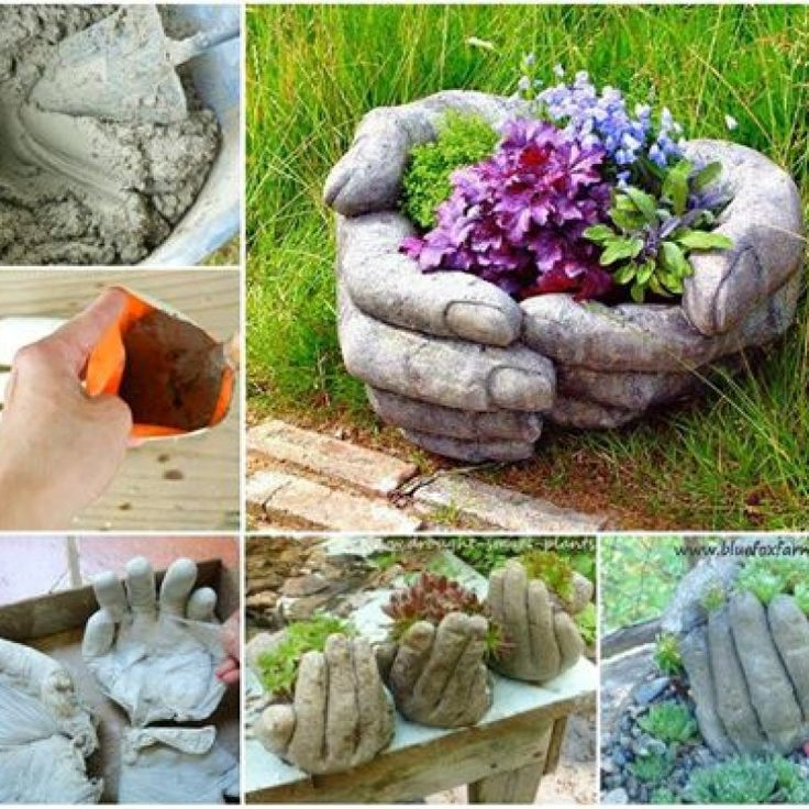 You need to try working with cement; it's really fun. Concrete is also pretty affordable so complete failures won't break the bank. But don't worry, there won't be any fails with this DIY. The tutorial, pics included, has what to do and what not to do so we are sure to get amazing...