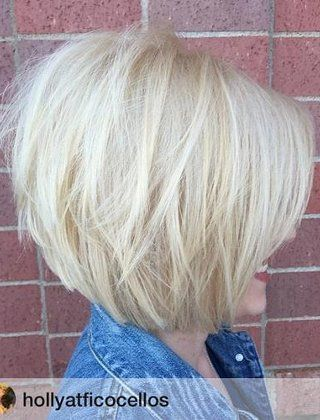 40+Short+Bob+Hairstyles:+Layered,+Stacked,+Wavy+and+Angled+Bob+Cuts