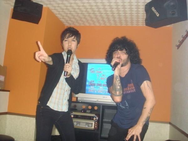 Cedric Bixler-Zavala Karaoke