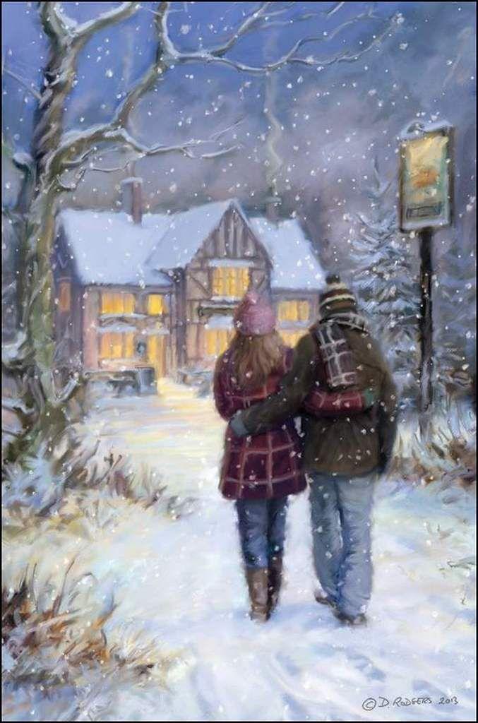 Amoureux en peinture - Daniel Rodgers - Promenade sous la ...